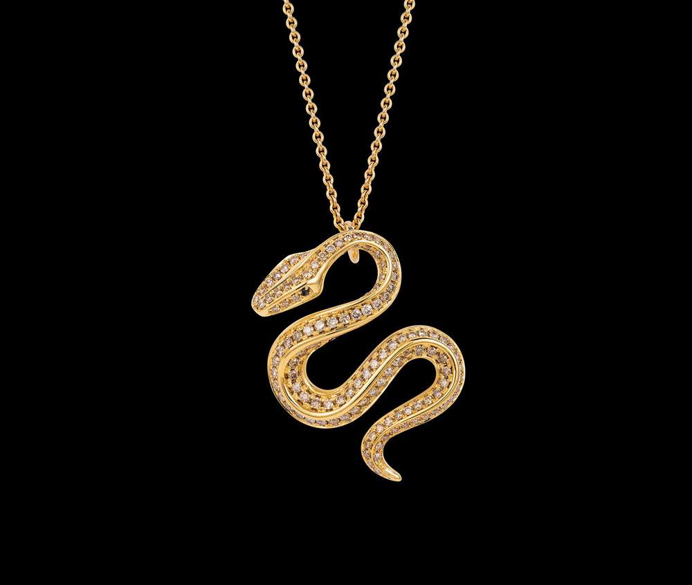 Sakti by lisa butcher collection snake pendant lisa butchersakti 2018 website by emily luff aloadofball Image collections